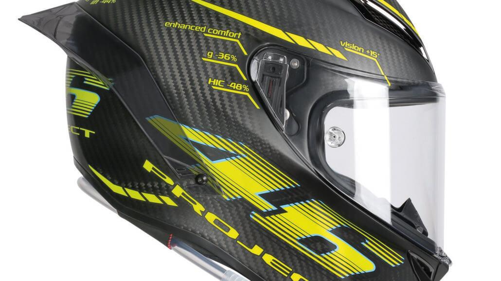 AGV Pista GP R – Motorcycle helmet from MotoGP › Motorcycles.News - Motorcycle-Magazine