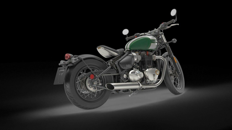 Triumph Bonneville Bobber 2017 18 Motorcycle White Honda Rebel