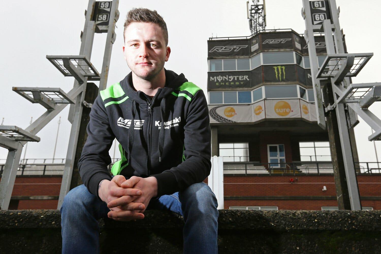 Adam McLean starts at Team McAdoo Racing at the Isle of Man TT