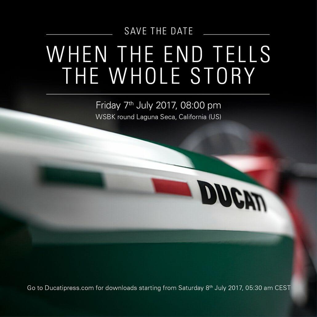 Does Ducati announce a Superleggera Tricolore?