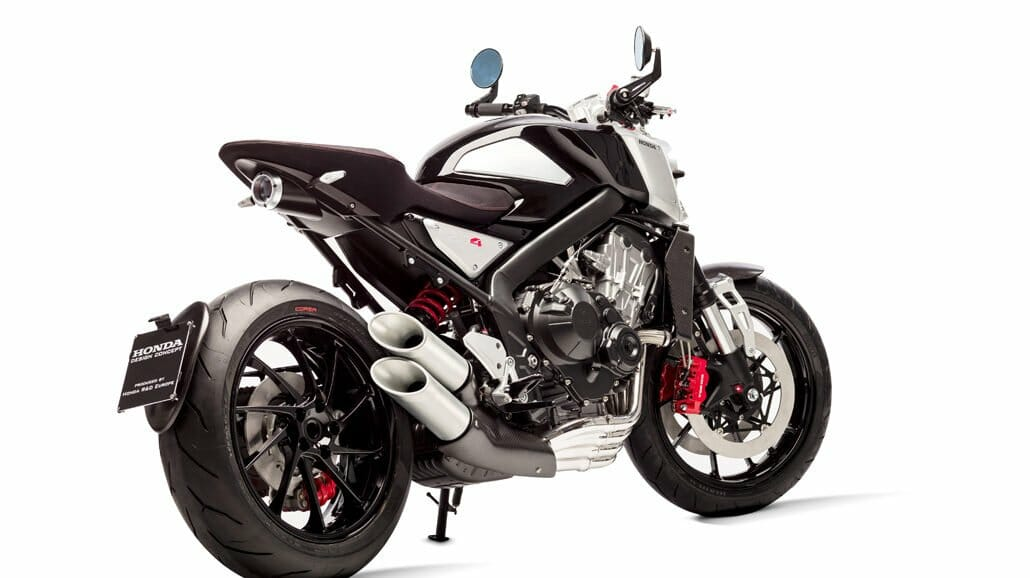 CB4 Concept Rumors About A New CB1000R Have Been Around For Long Time