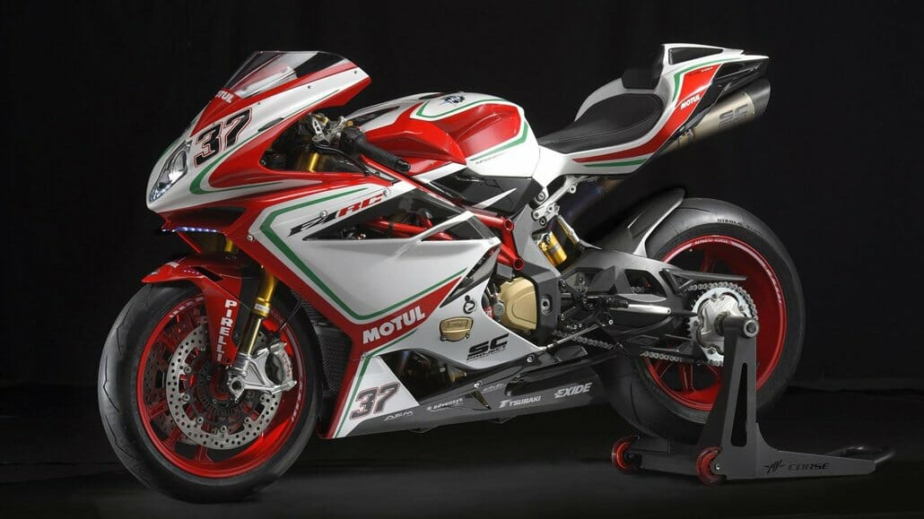 New four-cylinder from MV Agusta (F4, Brutale 1000 & Cafe Racer)