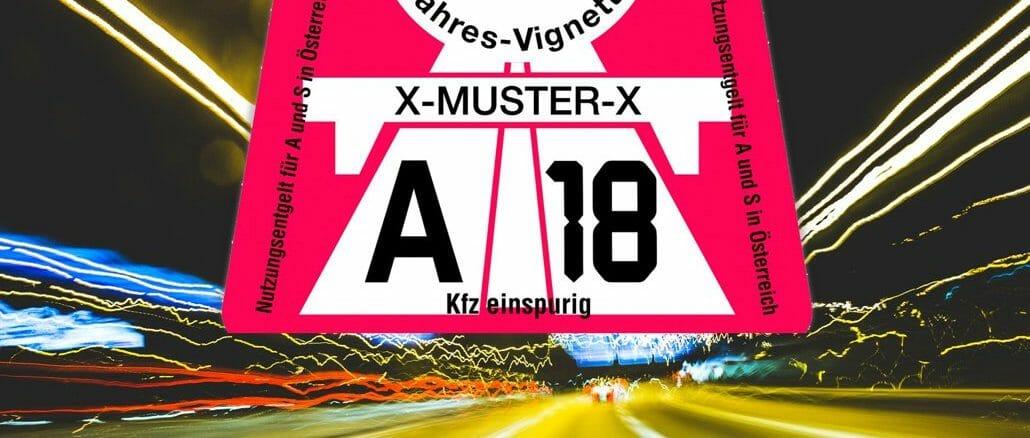 Vignette österreich 2020
