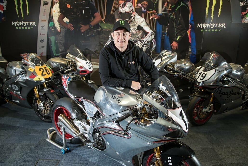 John McGuinness is taking a big step towards recovery
