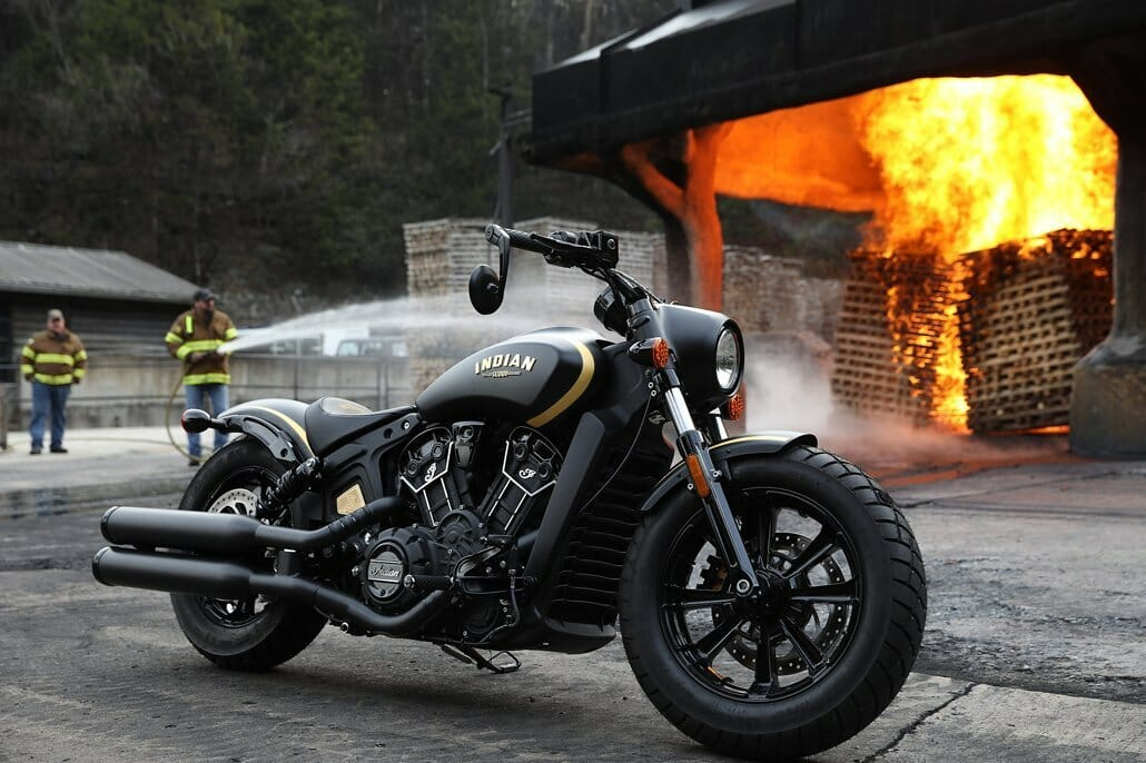 Strictly limited special edition - Jack Daniels Edition of the Indian Scout Bobber