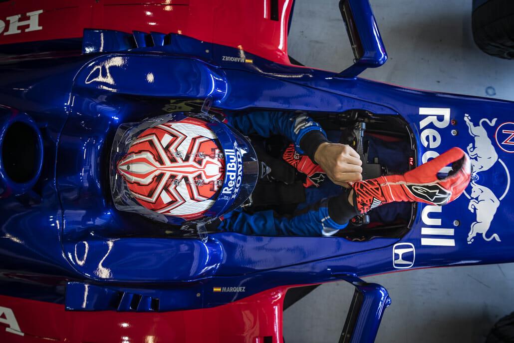 Marquez auch mit F1-Boliden schnell