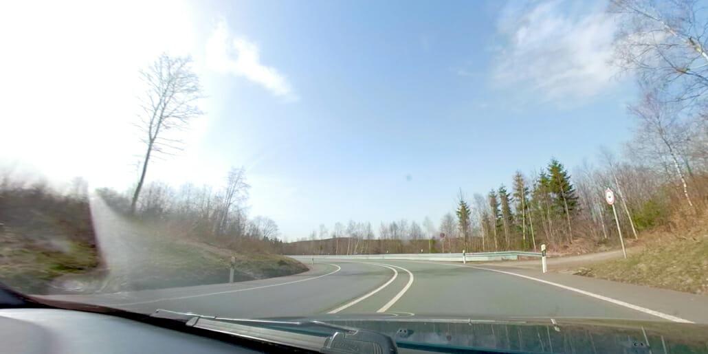 Nordhelle - schwerer Motorradunfall in der Applauskurve
