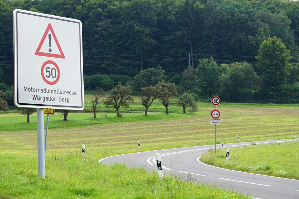 Würgauer Berg – Fahrverbot wird verlängert