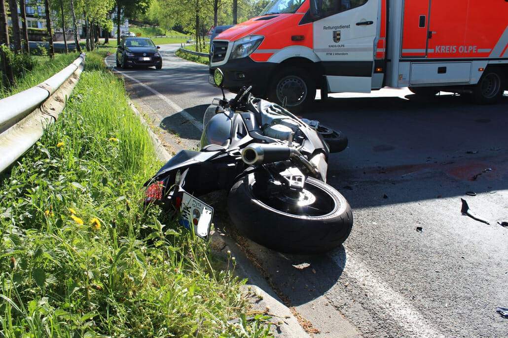 Tödlicher Unfall – wegen Flüssigkeit auf der Strecke?