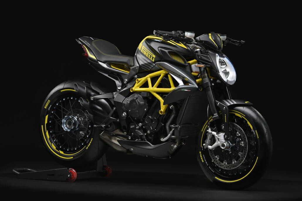 MV Agusta Sondermodell: Dragster 800 RR Pirelli