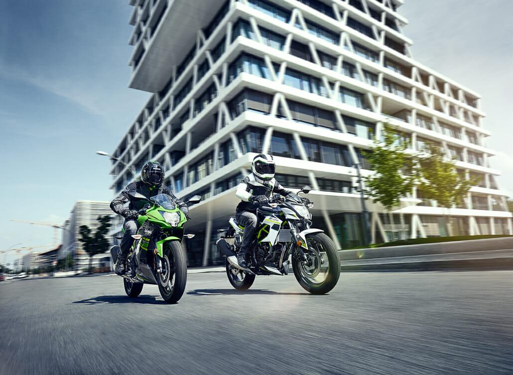 Kawasaki Ninja 125 & Z125 vorgestellt