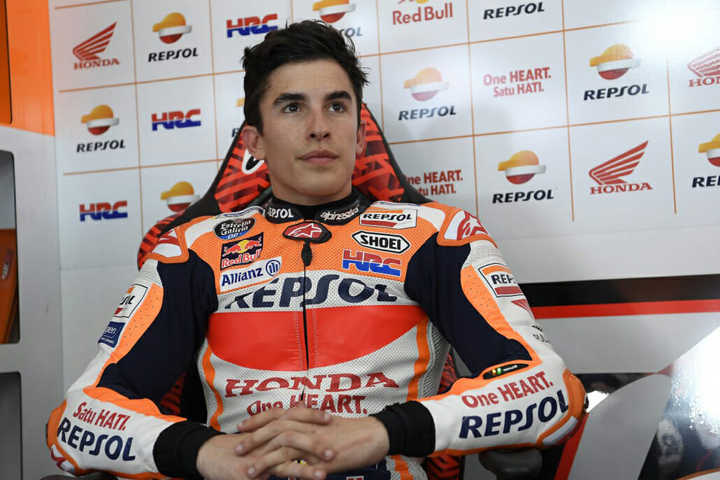 Marc Marquez had to be operated again