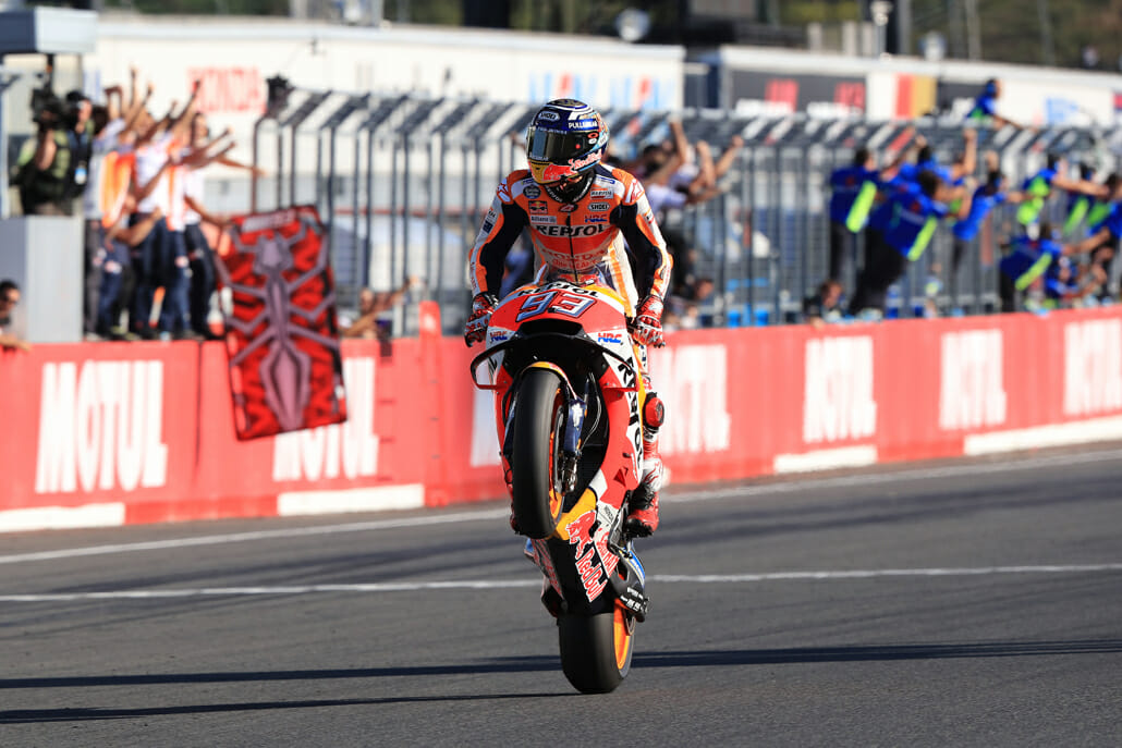 MotoGP is considering running ghost races