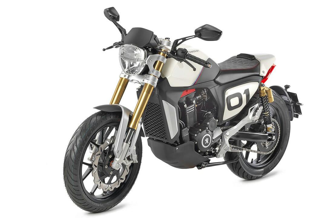 Peugeot stellt wieder Motorräder her