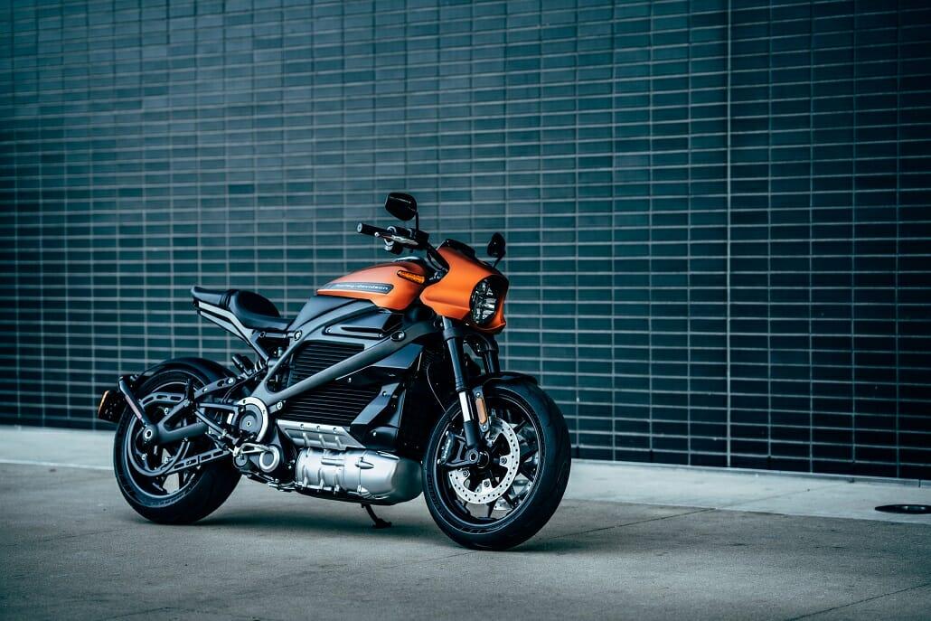 Harley-Davidson LiveWire auf der EICMA