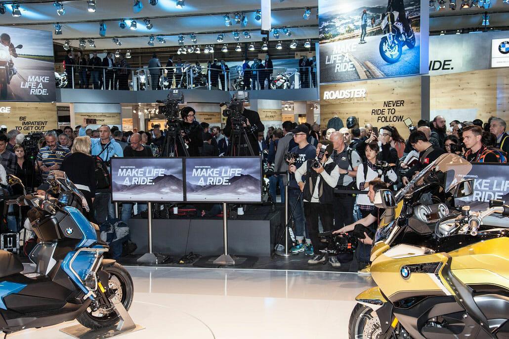BMW mit 6 Weltpremieren auf der EICMA