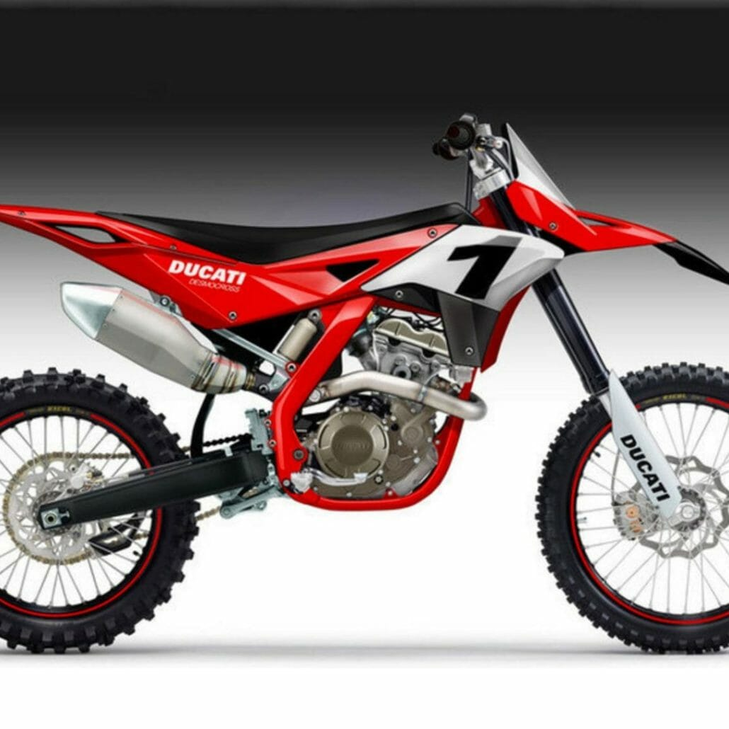Does an MX machine come from Ducati?