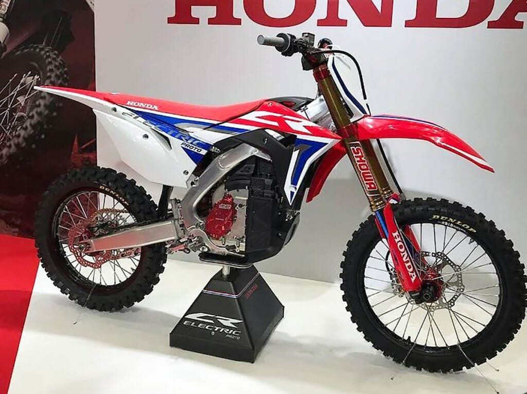 Video of the electric cross of Honda