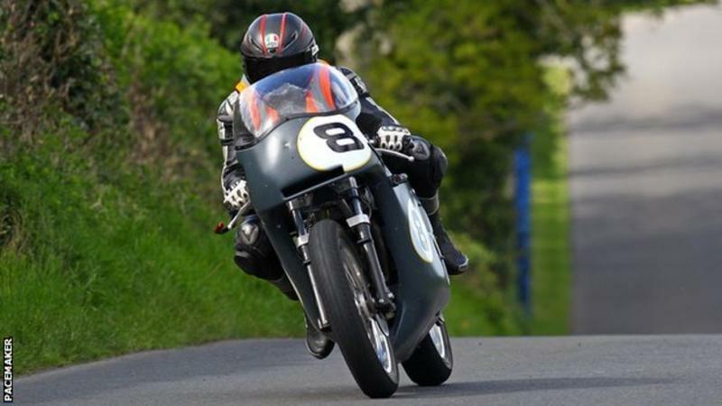 Guy Martin wins at Tandragee 100