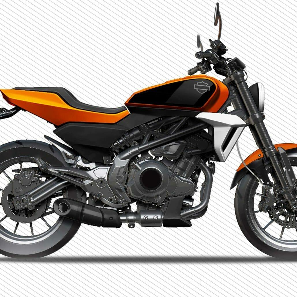 Mini-Harley mit 338cc wird produziert