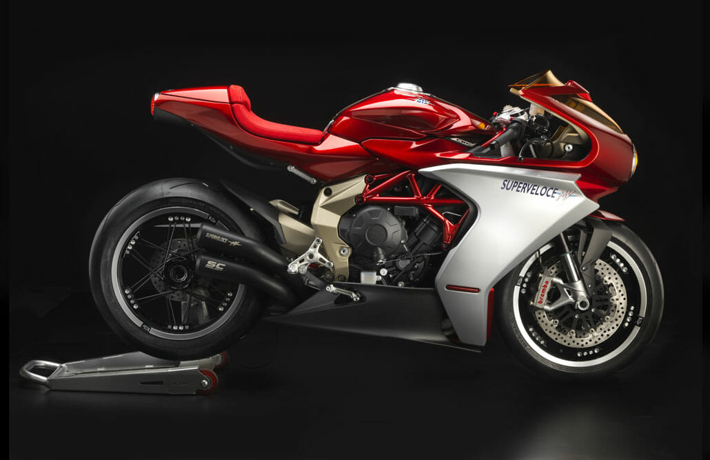 MV Agusta starts series production of the Superveloce 800 series Oro