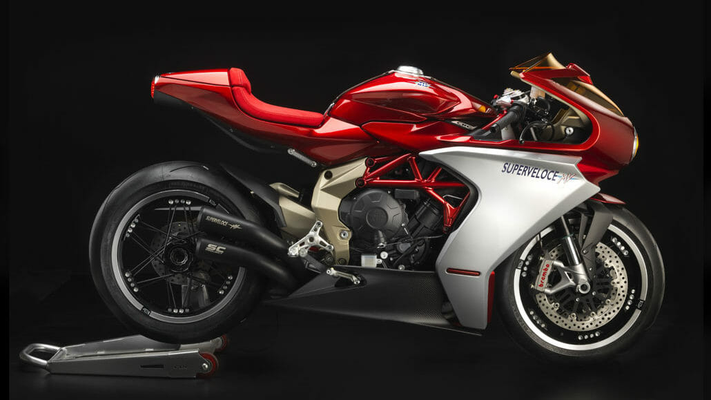 MV Agusta - limited edition sold out