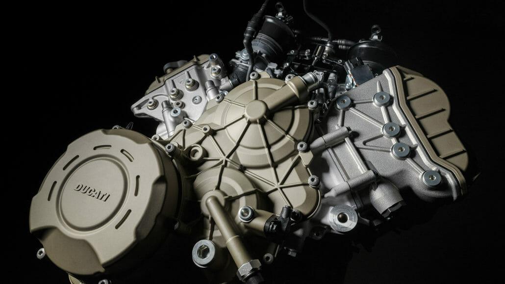 Ducati Multistrada with V4 engine
