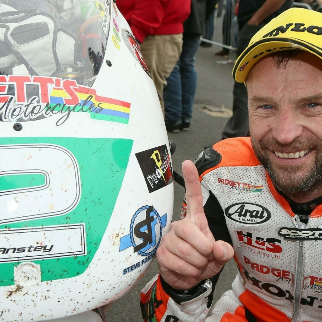 Bruce Anstey at the Classic TT