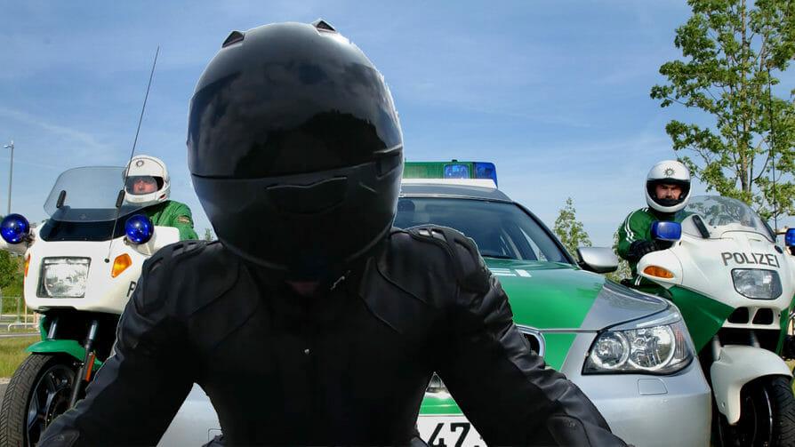 Krähberg – Biker gestoppt und Führerschein abgenommen