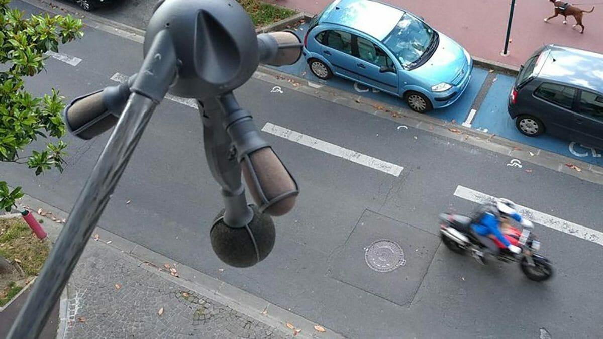 Frankreich testet Lärmschutzkameras