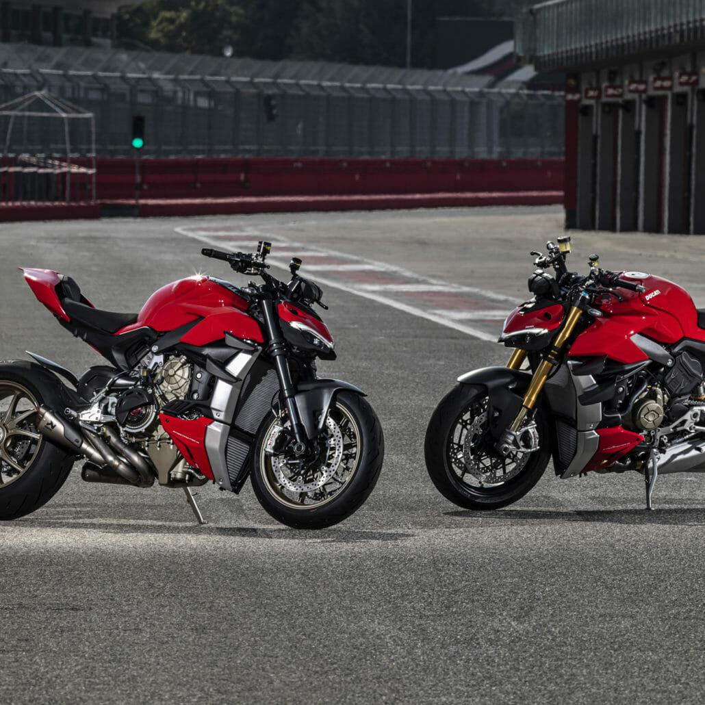 Recall: Ducati Streeetfighter V4 and V4S