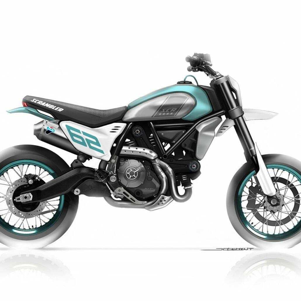 Ducati Concept Bikes - Supermoto and ADV