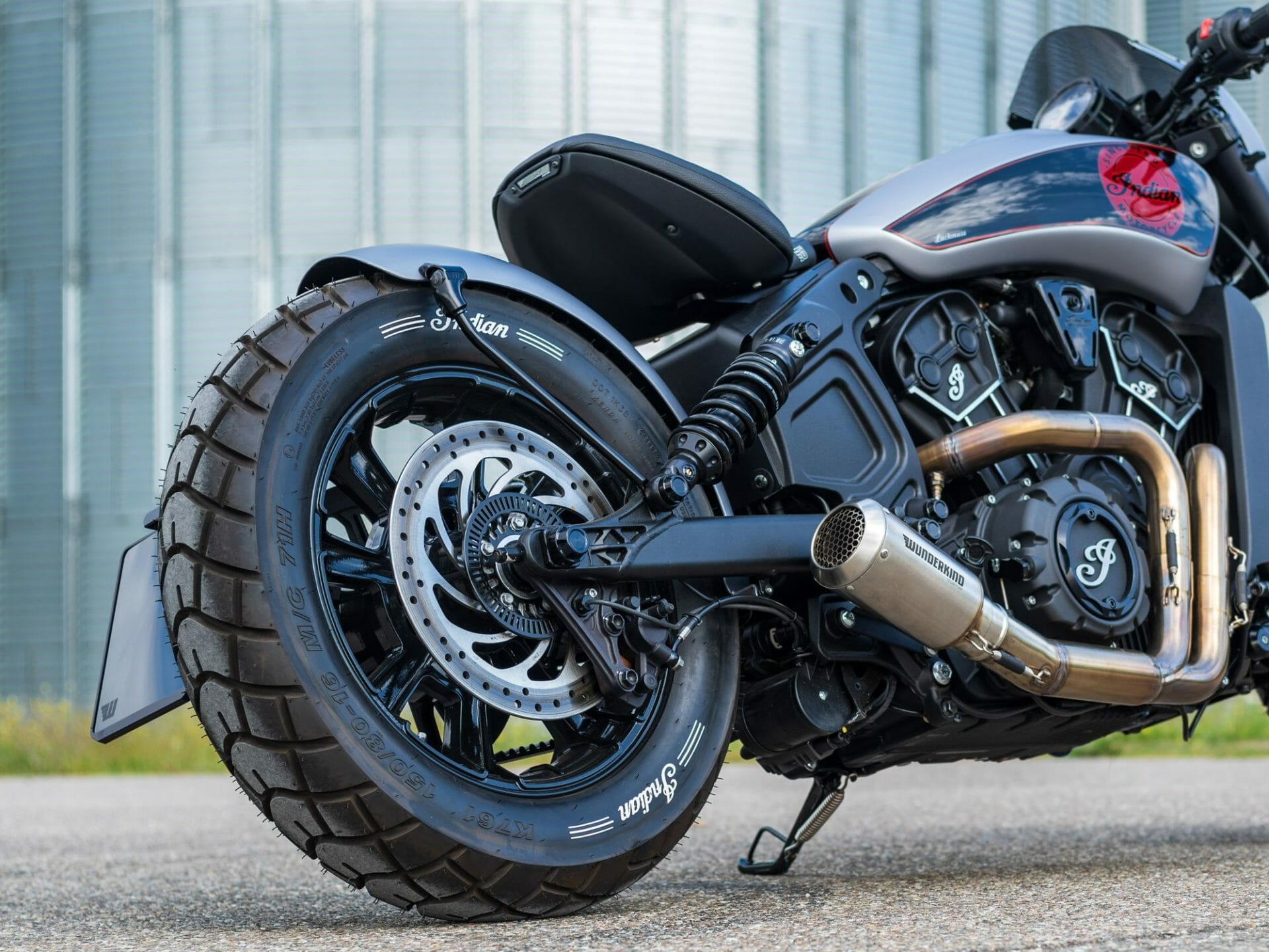 Wunderkind Newchurch Three Bobber Rear Fender Conversion Kit Motorcycles News Motorcycle Magazine