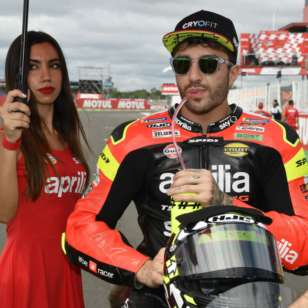 Andrea Iannone – positiver Doping-Test