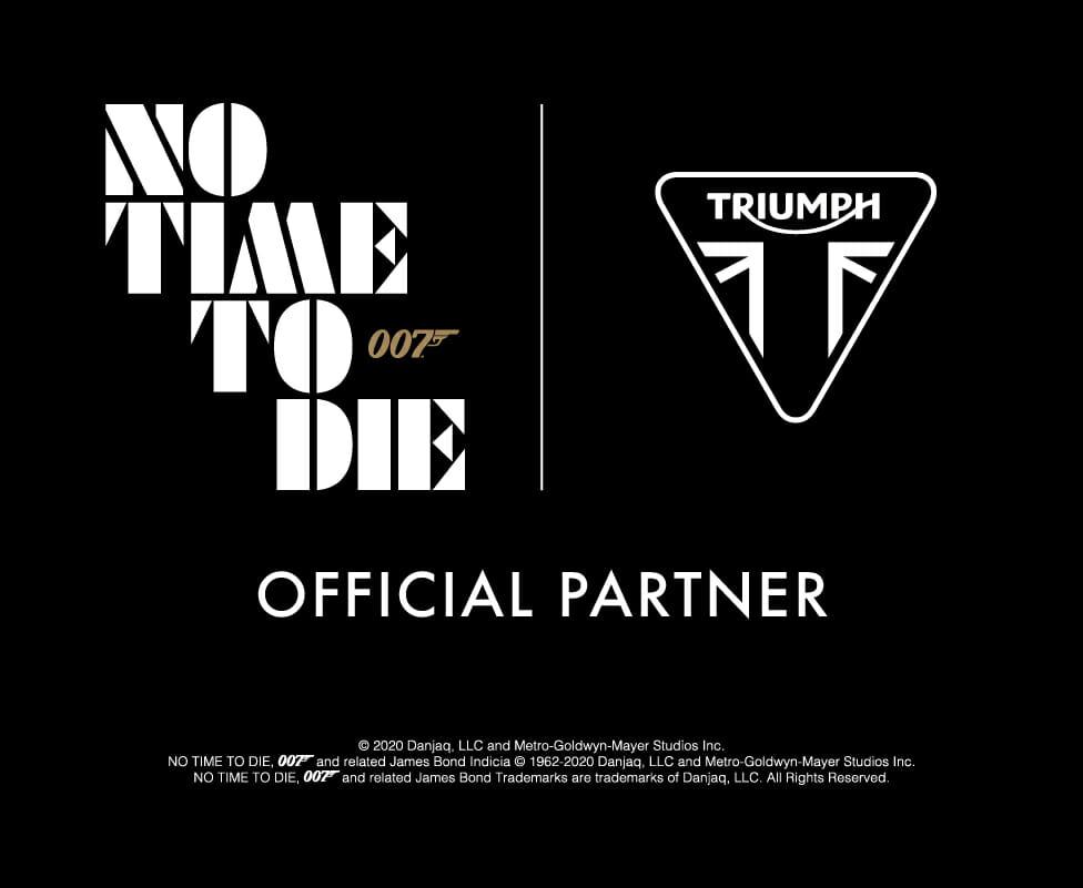 James Bond drives Triumph