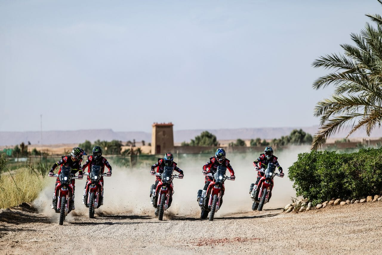 Dakar: Honda dominates - problems with GPS
