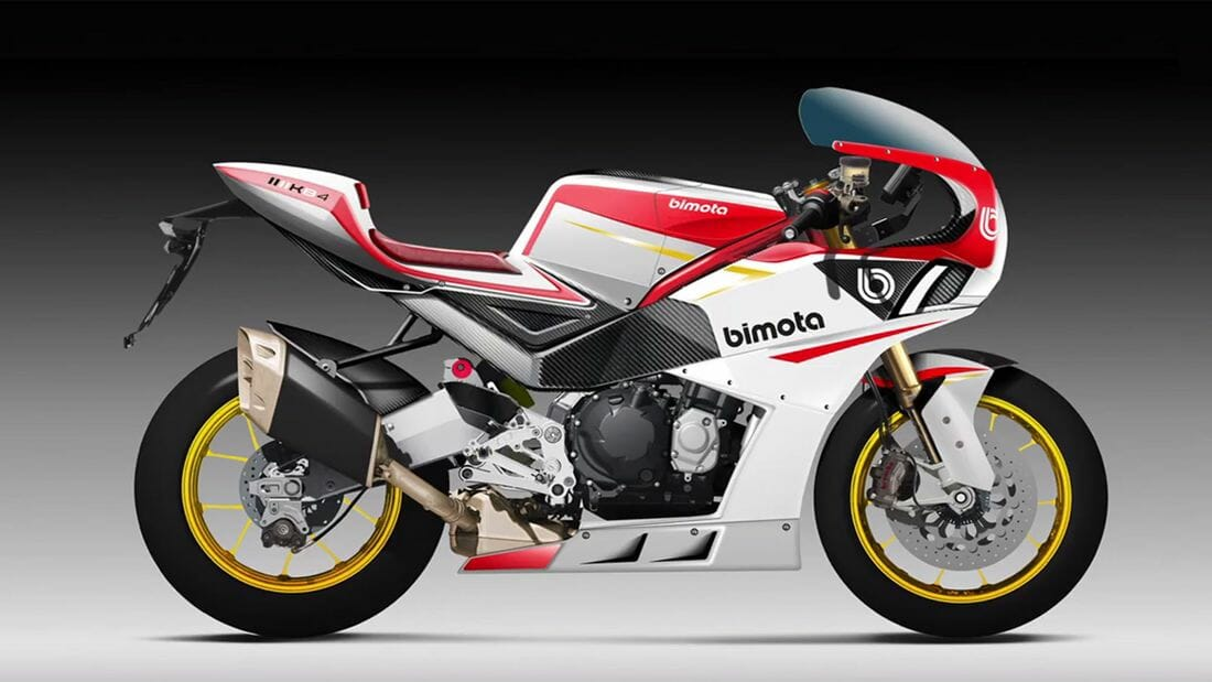 New information about the Bimota KB4