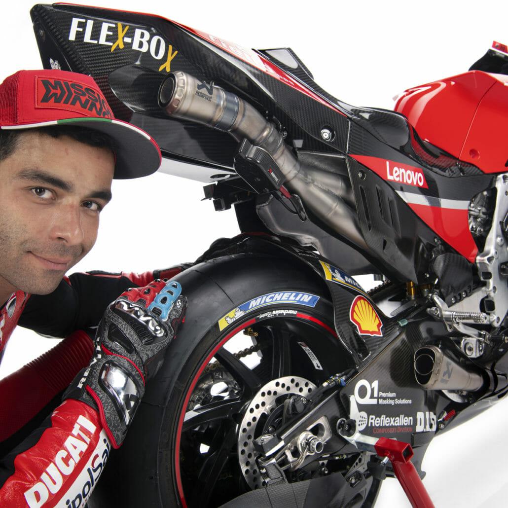 Danilo Petrucci will no longer drive for Ducati in 2021