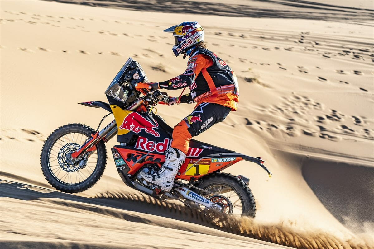 The first stage of the Dakar 2020 goes to Toby Price