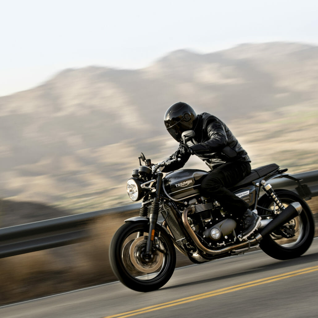 Recall: Various Thruxton models and Speed Twin affected