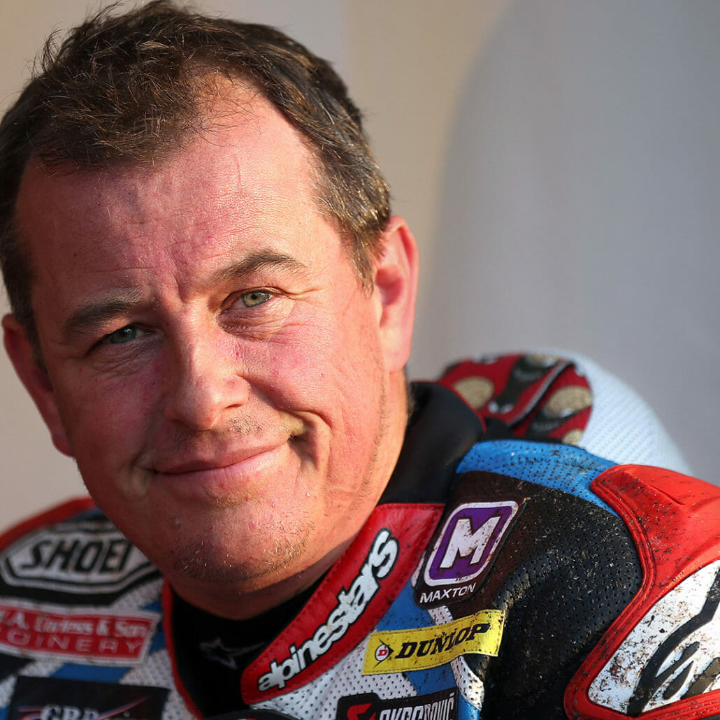 John McGuinness in a new team on the Isle of Man TT