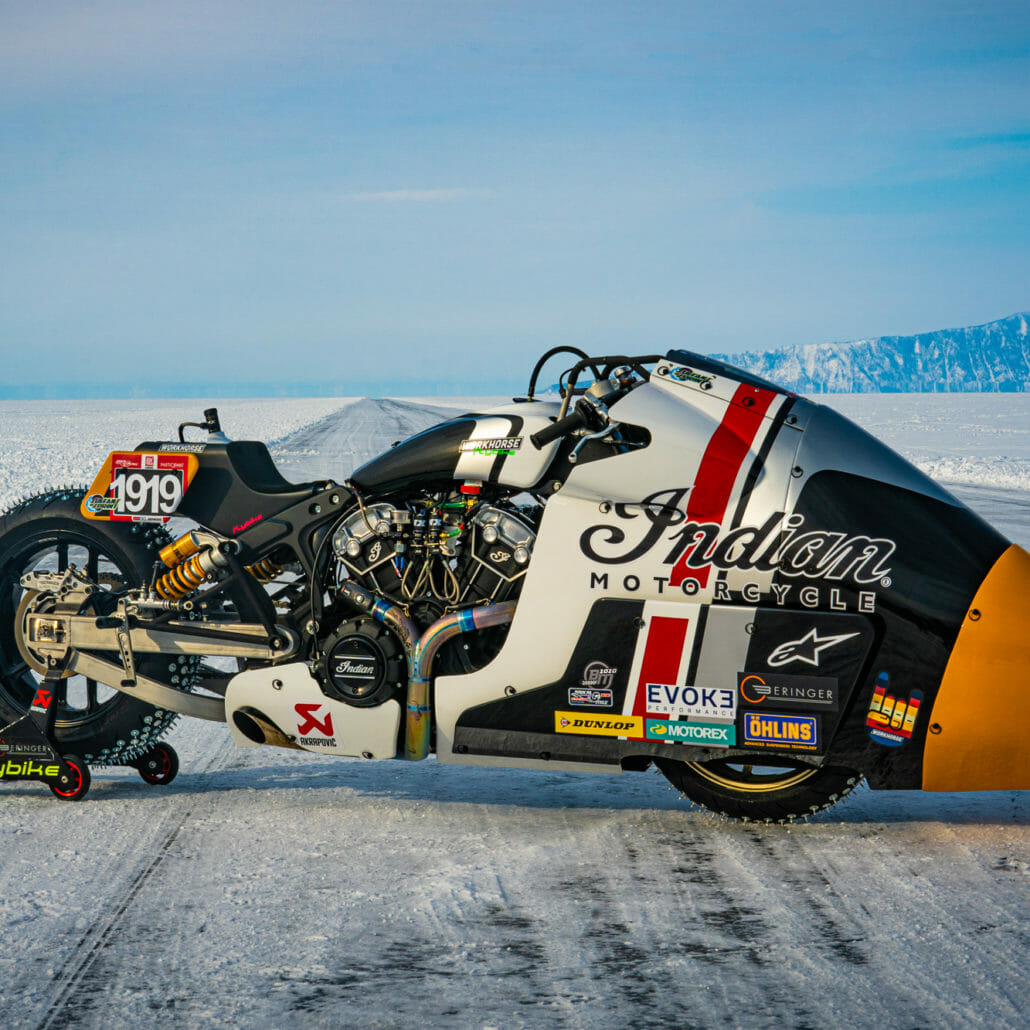 Indian Appaloosa v2.0 at the Baikal Mile Ice Speed Festival 2020