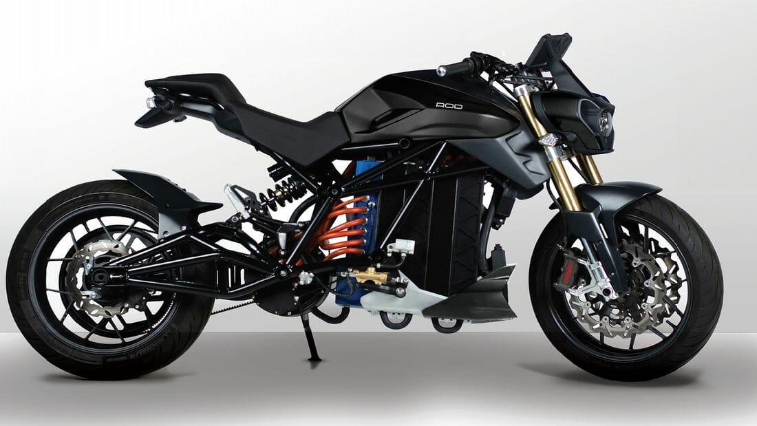 Electric naked bike Rod 1