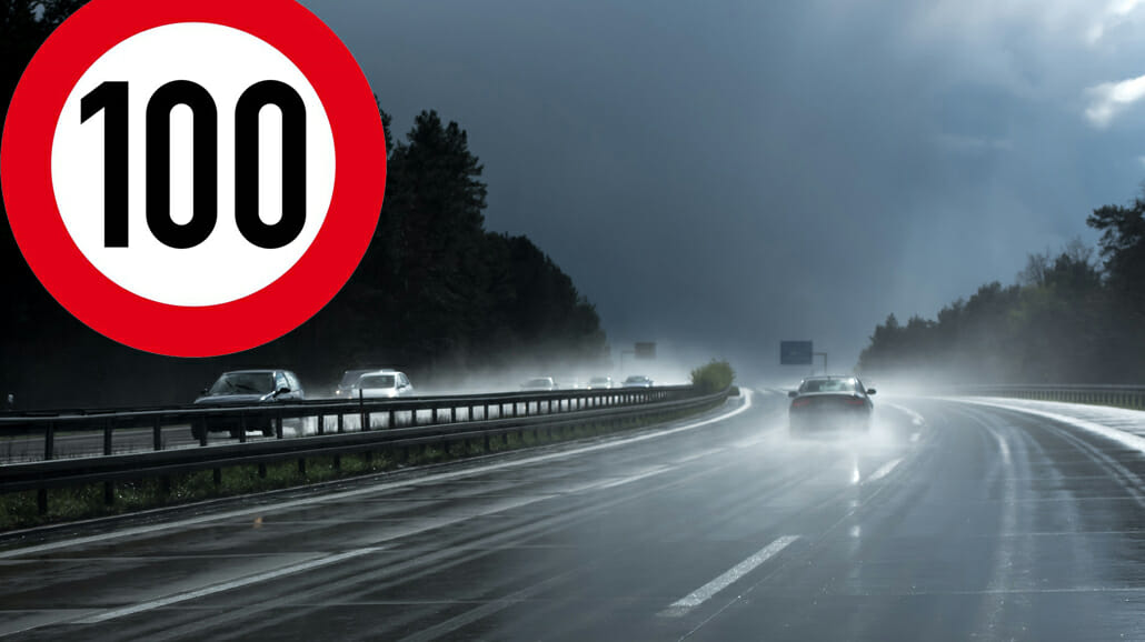 Tempo 100 in den Niederlanden