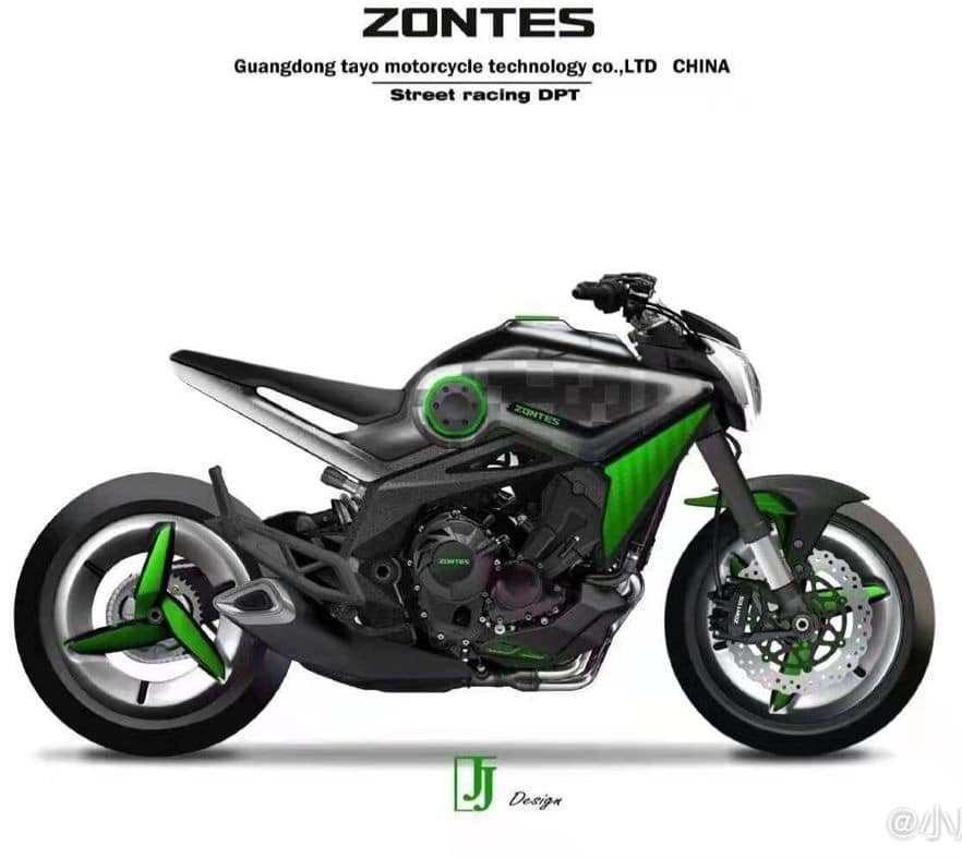 Zontes Naked Bike - Competition for the MT-09?
