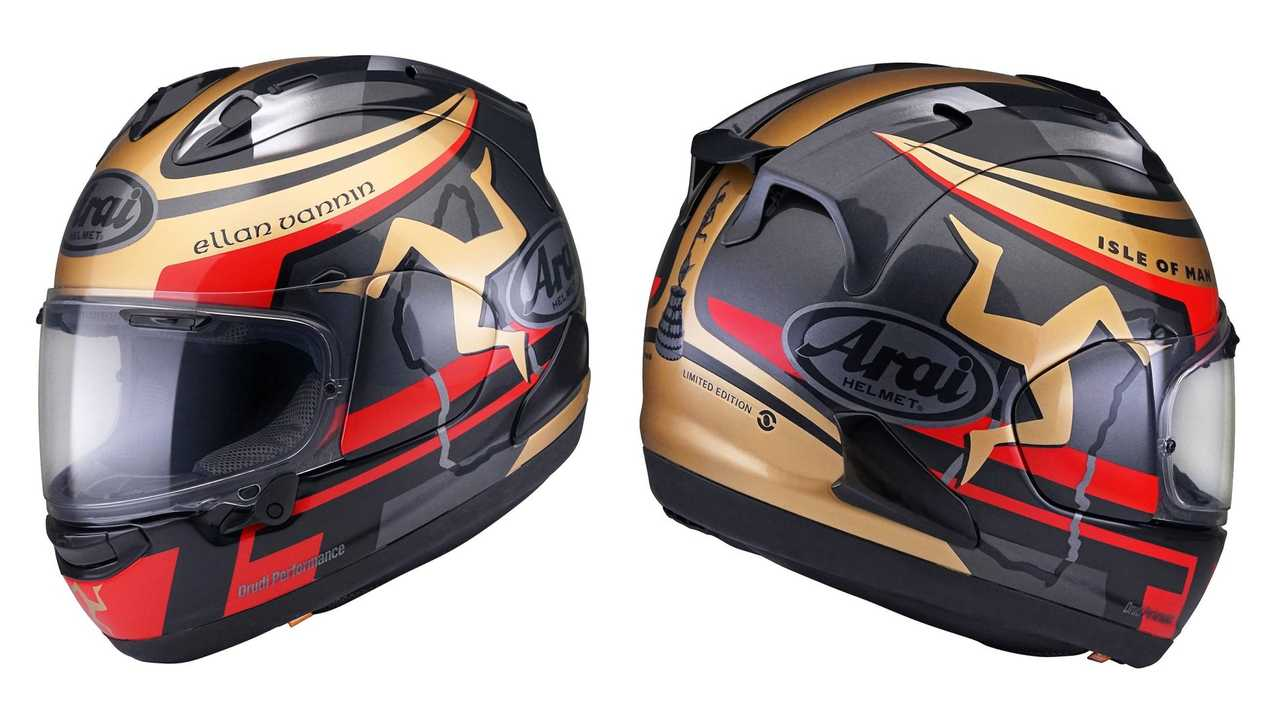 Arai launches new Isle of Man TT helmet
