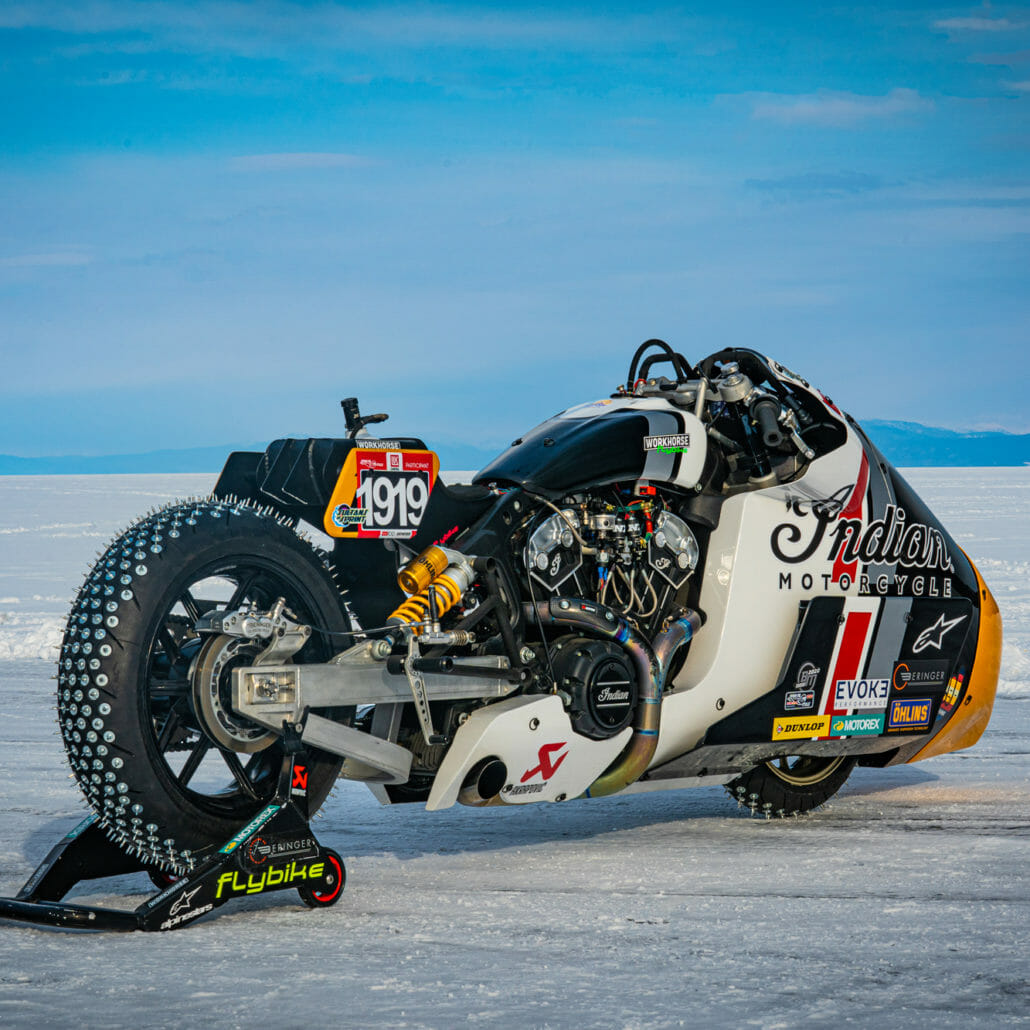 Video - Indian Appaloosa v2.0 at the Baikal Mile Ice Speed Festival