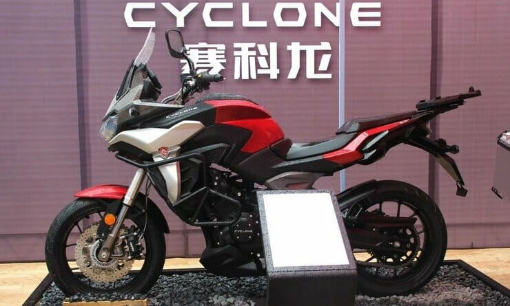 Norton's new 650cc Twin comes in the Zongshen Cyclone RX6