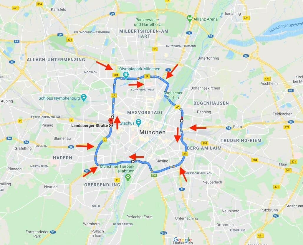 MotorradDemo München – Änderungen im Ablauf
