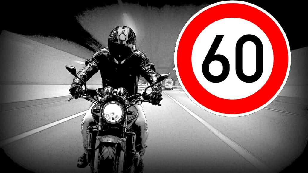 Tempolimit nur für Motorradfahrer in Wermelskirchen